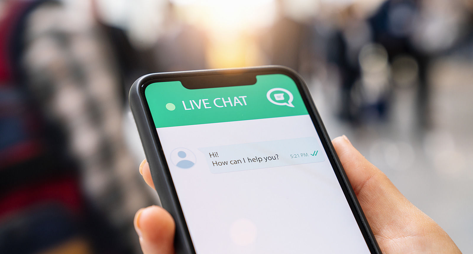 Personalize your LiveChat® window and connect with your website visitors.<br>
