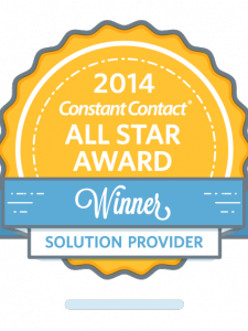 Kelowna Marketing Agency Wins 2014 Constant Contact All Star Award