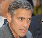 George Clooney Hates Facebook