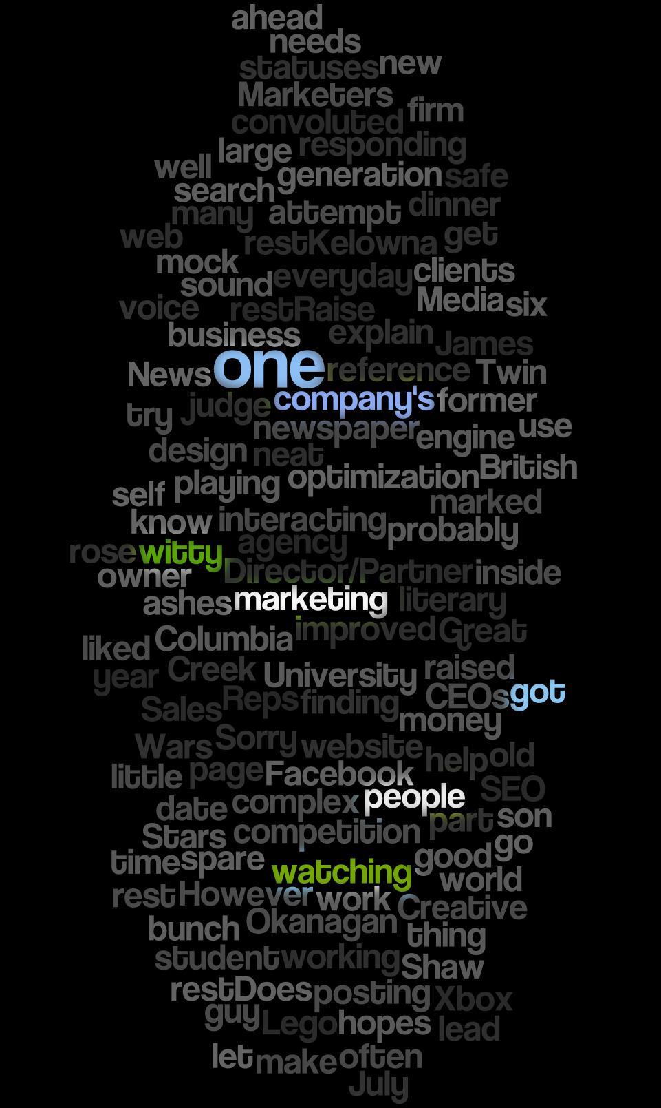 Words As Art by Kelowna Web Design Company