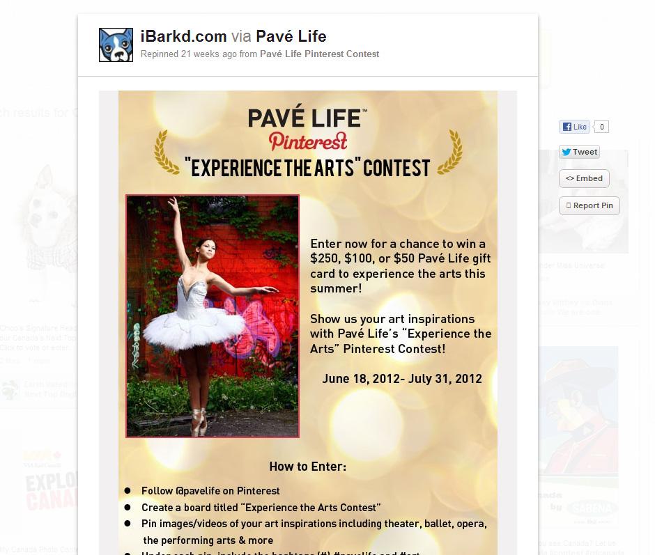 Kelowna Social Media Pave Contest