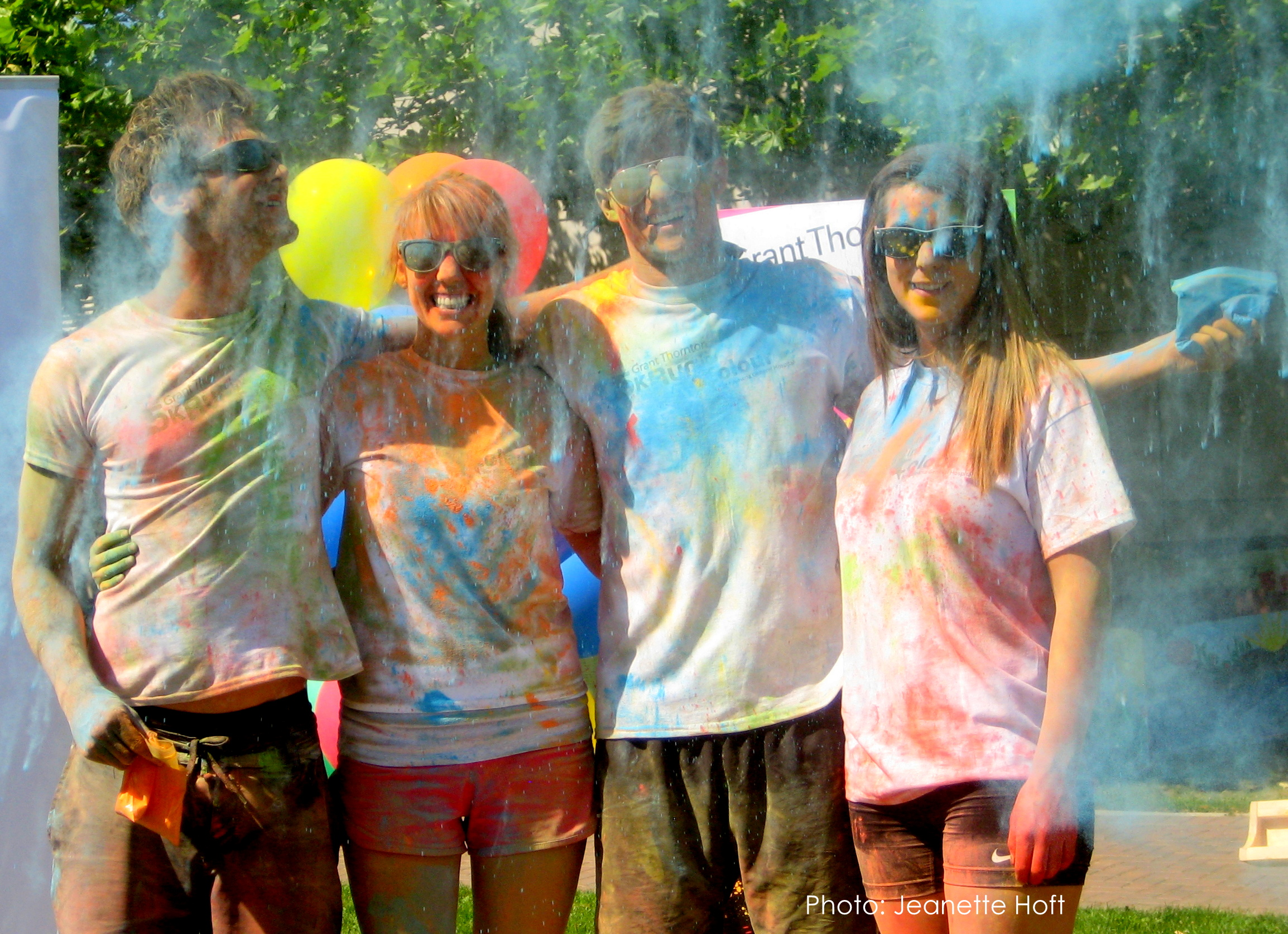Be a kid at heart again and join Kelowna's first Run in Colour!