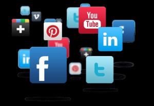 Social media site logos
