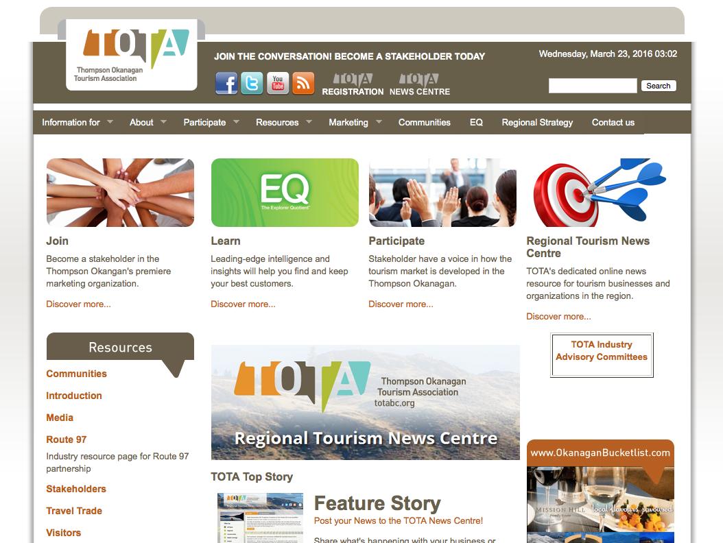 TOTA Website