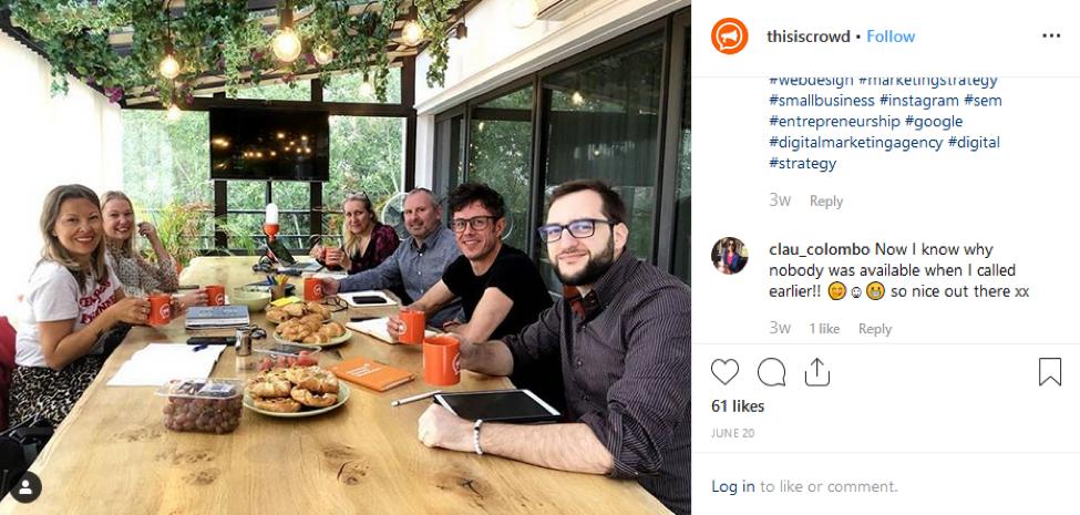 Crowd Instagram Group Shot